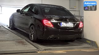 Download 2015 Mercedes-AMG C63 S (510hp) - pure SOUND Video