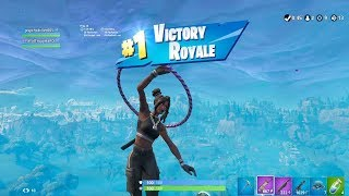 """Download FORTNITE First Win with BLACK ″LUXE″ SKIN (TIER 100 """"24K"""" OUTFIT) 
