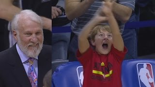 Download Tim Hardaway Jr Catches Fire Sends It to Overtime! Spurs vs Hawks Video