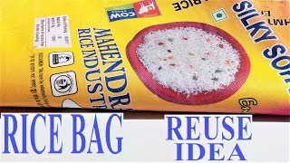 Download Rice Bag and Old Clothes Reuse Ideas | Waste Material Craft | DIY Projects Video