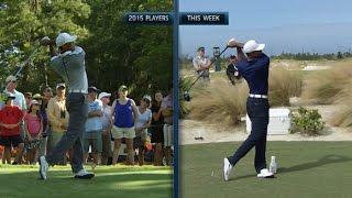 Download Tiger Woods' slo-mo swing 2015 vs. 2016 at Hero World Challenge Video