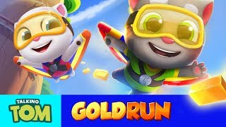 Download 🔥FLY HIGH in Talking Tom Gold Run (Official Trailer) Video