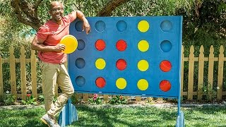 Download How To - DIY Backyard Connect Four - Hallmark Channel Video
