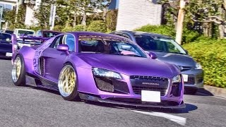 Download 【大黒PA】新春スーパーカー加速サウンド/Supercar sounds compilation in Japan Video