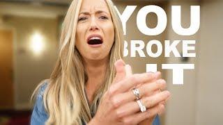 Download I THINK YOU BROKE MY FINGER! Video