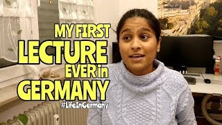 Download Took my FIRST LECTURE EVER inGermany | Life In Germany Video