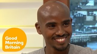Download Mo Farah on Leaving Somalia and the Difficulty of Being a Champion Athlete | Good Morning Britain Video