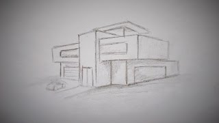 Download How to draw a modern house Video