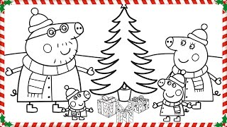 Download Peppa Pig Christmas Coloring Book Pages Kids Fun Art Coloring Videos For Kids Video