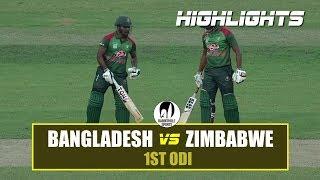 Download Bangladesh vs Zimbabwe Highlights || 1st ODI Highlights || Zimbabwe tour of Bangladesh 2018 Video