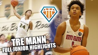 Download Tre Mann CAN PULL UP FROM ANYWHERE ON THE FLOOR!! | Full Junior Highlights Video