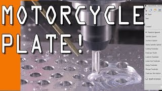 Download Machining a KTM Motorcycle Plate! WW159 Video