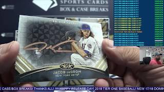Download 2018 Topps Tier One Baseball 12 Box Case Break #12 Video