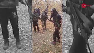 Download Viral video of Hizbul Mujahideen commander training militants Video