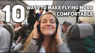 Download 10 Ways to Make Flying More Comfortable Video