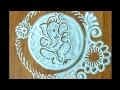 Download Ganapati special rangoli Video