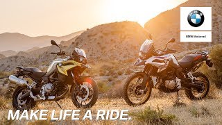 Download IN THE SPOTLIGHT: BMW F 750 GS and BMW F 850 GS. Video
