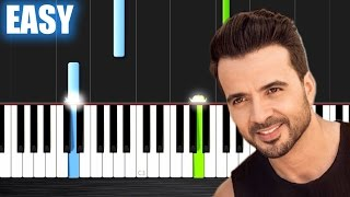 Download Luis Fonsi - Despacito ft. Daddy Yankee - EASY Piano Tutorial by PlutaX Video