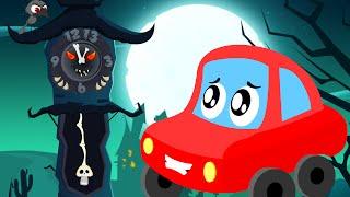 Download little red car | the clock has struck thirteen | Halloween songs for children Video