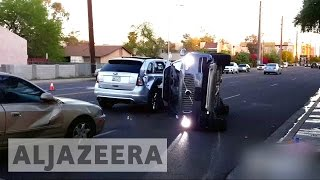 Download Uber suspends driverless cars after crash Video
