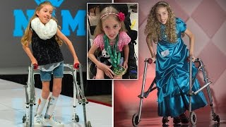 Download Watch 11-Year-Old Girl With Cerebral Palsy Get Standing Ovation In First Pageant Video