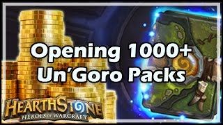 Download [Hearthstone] Opening 1000+ Un'Goro Packs Video