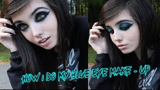 Download HOW I DO MY BLUE EYE MAKE UP | Eugenia Cooney Video