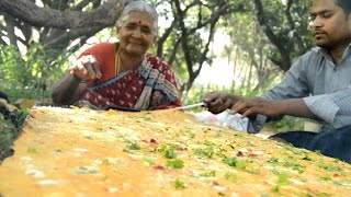 Download How To make world's Biggest Egg Omelet My Grandma || Myna Street Food || Food Info Video