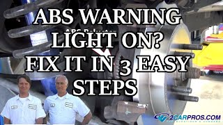 Download ABS WARNING LIGHT ON? FIX IT IN 3 EASY STEPS Video