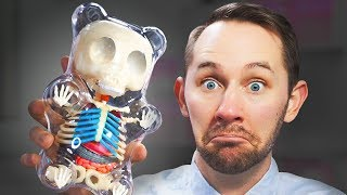 Download I Dissected A GIANT Gummy Bear! | 10 Strange Amazon Products Video