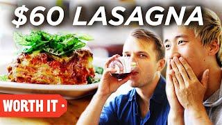 Download $13 Lasagna Vs. $60 Lasagna Video
