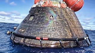 Download U.S. Navy Recovers NASA Orion Space Capsule • EFT-1 Video