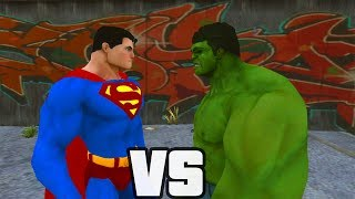 Download Superman Vs Hulk - O Combate Video