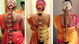 Download Indian Bridal Hairstyles | Wedding Hairstyles Step By Step | Bridal Bun and Bridal Plait Hairstyles Video