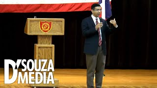 Download NEW: D'Souza addresses massive crowd at Marine Military Academy in Texas Video