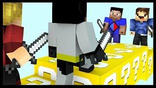 Download Minecraft LUCKY BLOCK Bridges with Vikkstar, Woofless, xRpM & CraftBattleDuty Video