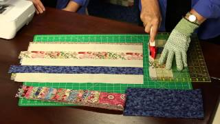 Download How to Make Quilting Quickly's ″London Lawns″ Quilt From Super Soft Small Florals Video