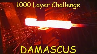 Download DAMASCUS 1000 LAYER CHALLENGE Video