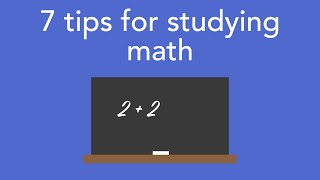 Download 7 tips for studying math Video