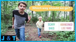 Download Followers Choose Our Hike - Scary Shed or Abandoned Log Yard / Jake and Ty Video