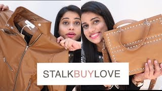 Download SCARY NIGHT's STALKBUYLOVE HAUL / Jackets, Bags, Dress & more | Sana K Video