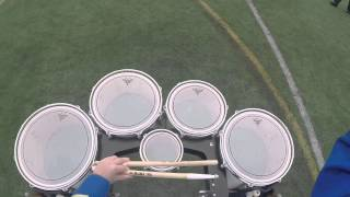 Download Acton Boxborough Marching Band Tenor Cam 2014 Video