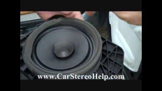 Download How to Chevrolet Silverado Rear Speaker Removal 2007 - 2013 Video