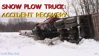 Download Snow Plow Truck Accident: Recovery & Tow Video