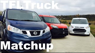 Download 2015 Ram ProMaster City vs Ford Transit Connect vs Nissan NV200 Matchup Van Review Video