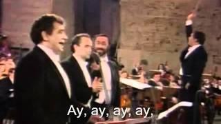 Download The Three Tenors - Cielito Lindo - 1990 Video