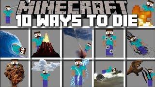 Download Minecraft 10 WAYS TO DIE MOD / FIND OUT HOW YOU WILL DIE IN MINECRAFT!! Minecraft Video