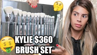 Download KYLIE COSMETICS $360 BRUSH SET | OMG DUPES!!! HIT OR MISS?? Video