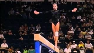 Download Dominique Moceanu - Balance Beam - 1998 U.S. Gymnastics Championships - Women - Day 1 Video