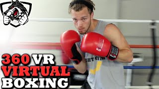 Download 360 VR Boxing Sparring with Shane Fazen Video